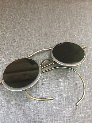 Vintage Willson Welder Motorcycle Safety Glasses steampunk sunglasses