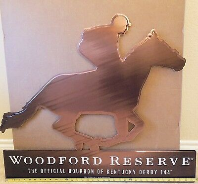 Woodford Reserve Kentucky Derby Metal Tin Sign