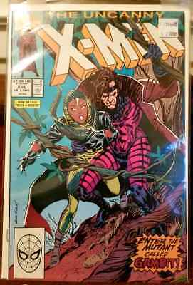 X-Men #266 1st Gambit! 1990 Marvel Excellent Condition. NEVER READ! near mint