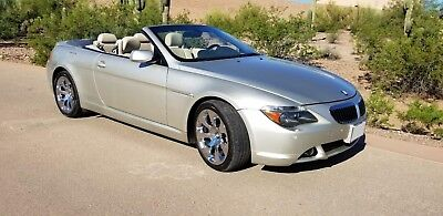 2005 BMW 6-Series 645ci 2005 BMW 645ci CONV, NEAR SHOWROOM CONDITION, 62K MILES, FULLY LOADED, MUST SELL