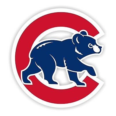 Chicago Cubs  Decal / Sticker Die cut