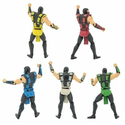 Mortal Kombat Series X Scorpion 10cm PVC Action Figure Collection Toy Xmas Gift