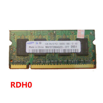2GB PC2-6400S For ELPIDA DDR2 800MHz RAM Laptop Memory PC6400 200PIN SO-DIMM RDH