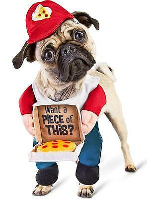 Bootique S Dog Costume Cheezy Delivery Pup Pizza Hat You Want A Piece of This?