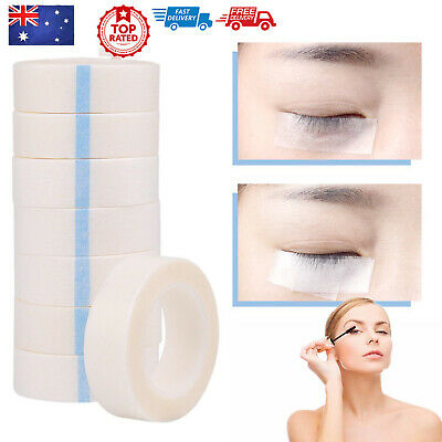 5/10 Rolls Eyelash Lash Extension Micropore Paper Tape Makeup Medical Supply