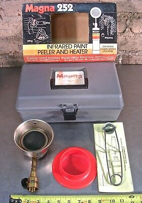 Magna 252 Flameless Propane Infrared Paint Peeler And Heater Kit W/case