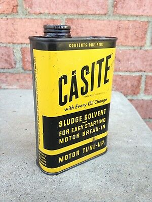 Vintage Casite Oil can - early 1950's