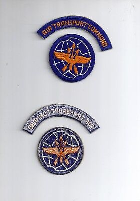 Usaf Wwii Era Us Army Air Force  Military Air Transport Service Command Patch