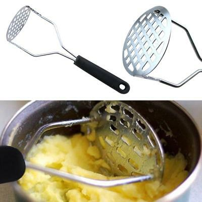 Stainless Steel Potato Masher Ricer Puree Press Maker Fruit Vegetables New Sale