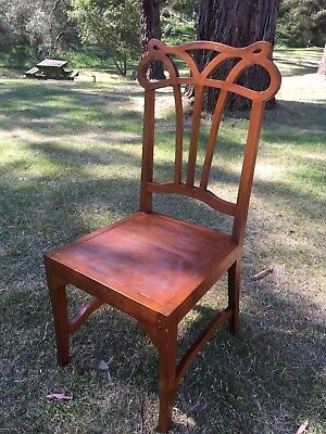 Ornate Antique Wooden Chair