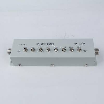 0 - 82DB VARIABLE/ STEP ATTENUATOR 50 OHM for Ham Radio Transmitter NEW