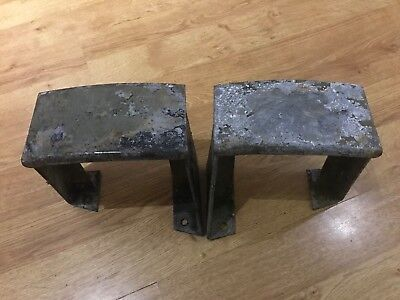 Military Series Land Rover & Defender Heavy Duty Rear Bumperettes x 2