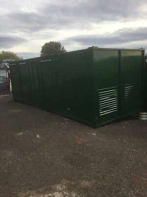 24ft x 9ft Site Welfare Unit Office Shipping Container C/w Toilet
