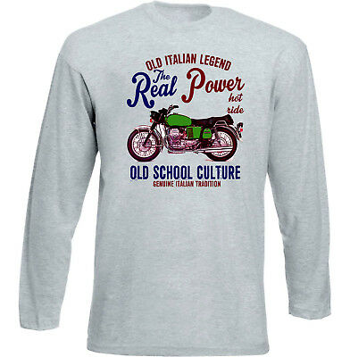 Vintage Italian Motorcycle Moto Guzzi 850 Gt - New Cotton T-Shirt