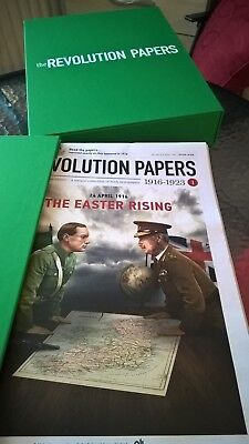 THE REVOLUTION PAPERS-part 1 to 25 inclusive in strong Archive Case.