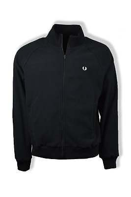 Fred Perry Fleece Track Jacket (Black)