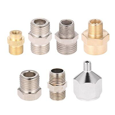 KKmoon 7pcs Airbrush Adapter Kit Fitting Connector Set Compressor & Air Brush