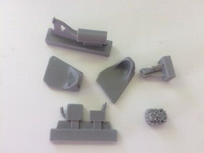 1/24 additional resin parts for engine - for Lancia 037 Hasegawa