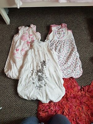 0-6 months / sleeping bags / 2.5 tog / baby girl