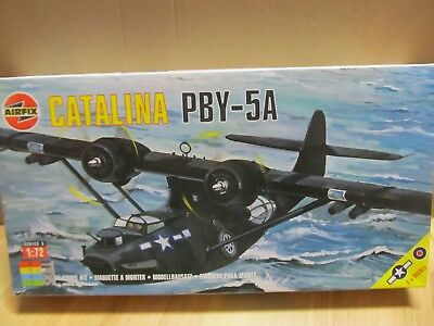 150MB - Airfix 05007 - 1:72 - Bausatz Catalina PBY - 5A - top in OVP