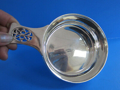 Sterling Silver Tiffany & Co Pierced Handle Porringer 10 Oz. -- Free Shipping *