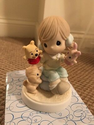 Precious Moments Winnie The Pooh It's So Much More Friendly With Two NEW