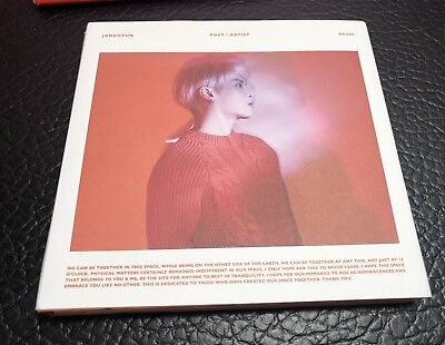 Shinee JONGHYUN  Poet Artist Album CD Booklet Photo book/photo Card