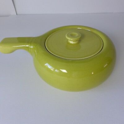 Russel Wright Steubenville Chartreuse Casserole w/ Lid American Mid Century