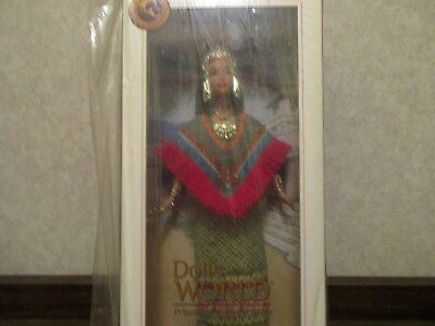 Dolls of the World Princess of Ancient Mexico Barbie Collection Pink Label