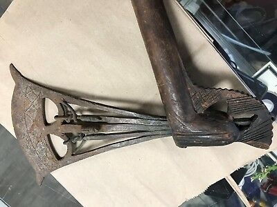 CONGO old african axe Beautiful