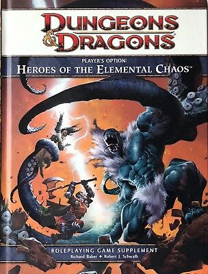 Dungeons & Dragons 4th Edition - Heros Of The Elemental Chaos