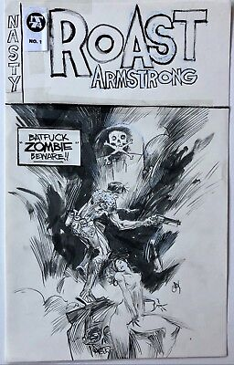 Ashley Wood - Roast Armstrong - Cover