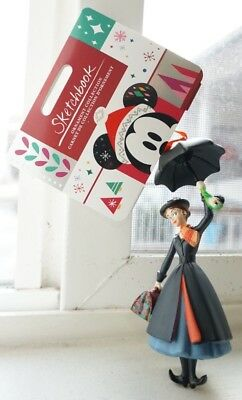2018 Disney Sketchbook Ornament MARY POPPINS W/ UMBRELLA