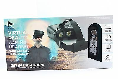 Virtual Reality VR Gaming Headset with Wireless Controller