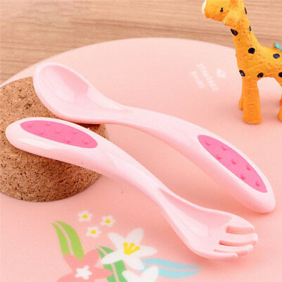 Feeding Spork Spoon and Fork Set With Case Baby Tableware for Toddlers kids