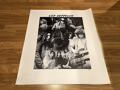 Led Zeppelin Limited Edition Canvas 69/100