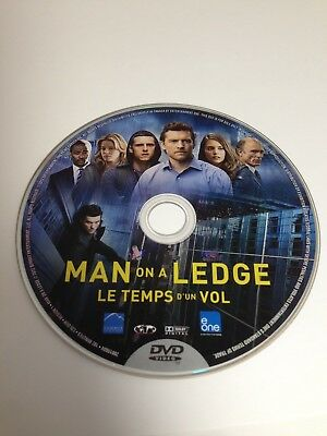 Man On A Ledge - DVD Disc Only - Replacement Disc