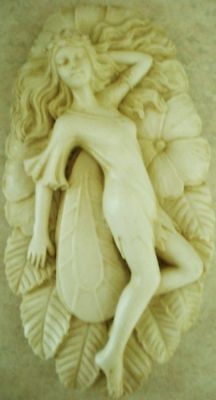 Latex Mould for making this STUNNNG FAIRY PLAQUE/SOAP