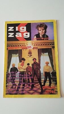 Zig Zag 1980s magazine - early Altered Images (Grogan), Duran Duran, D.A.F