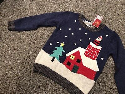 M&S Child's Xmas Jumper  BNWT Age 18-24 Months