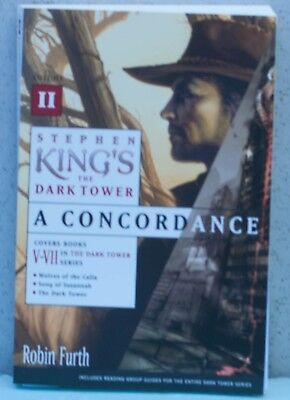 Stephen King's The Dark Tower: A Concordance Vol 2 (Item C1031,1032)