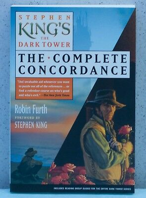 Stephen King's The Dark Tower: The Complete Concordance (Item C1036,1037,1038)