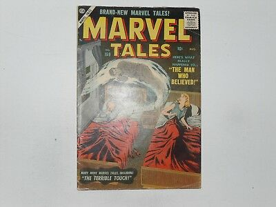Arvel Tales  #159  Aug 1957   Atlas Mystery  Comic Good To Very Good  Last Issue