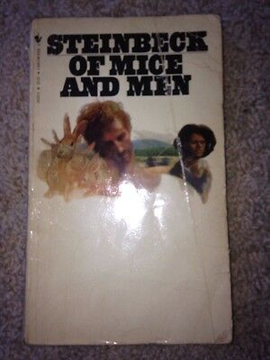 Of Mice and Men by John Steinbeck, 1982 pb. good condition vintage
