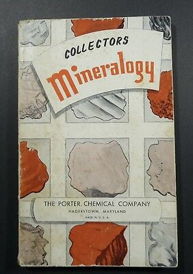 Mineralogy Porter Chemical Co 1955 PB Rock Book