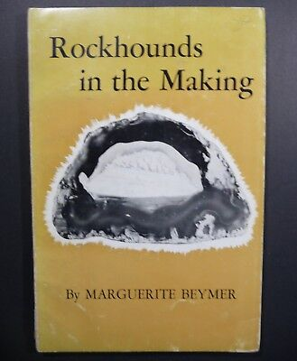 Rare PB Rockhounds in the Making Book