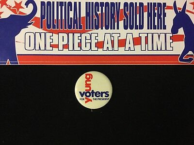 Young Voters For The President 1 3/4 Inch Button Box 2