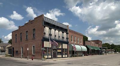 Small Town along Route 66,Elkhart,Illinois,IL,July 2009,Carol Highsmith,Stores