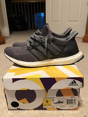 055760998 ADIDAS ULTRA BOOST 1.0 Mystery Grey Ltd Size 9 VNDS