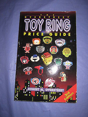 Overstreet Toy Ring Price Guide 3rd Edition SC 1997